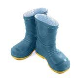 boots дети резиновые Стоковое Фото