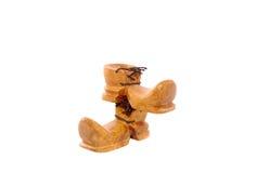 boots деревянное Стоковые Фото