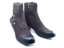 boots женская зима стоковая фотография