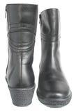 boots женщина теплая Стоковое фото RF