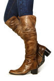 boots женщины Стоковая Фотография