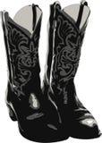 boots западное Стоковая Фотография