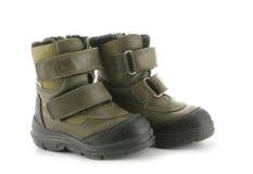 boots зима ребенка s Стоковое Фото
