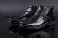 boots зима Стоковые Фотографии RF