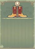 boots ковбой Стоковые Изображения RF