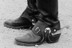 boots ковбой Стоковая Фотография