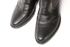 boots мыжские естественные новые кожи стоковая фотография