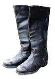 boots офицер армии старый Стоковое Изображение RF