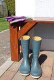 boots перчатки резиновые Стоковые Фото