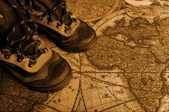 boots сбор винограда Стоковые Изображения RF