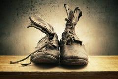 boots старая Стоковое Изображение RF