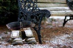 boots старое снаружи Стоковые Изображения