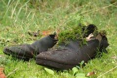 boots старое wery Стоковая Фотография RF