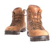boots старый несенный гулять пар Стоковое Изображение RF