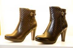 boots женщина Стоковые Изображения
