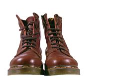 Boots. Pair of boots Royalty Free Stock Photos