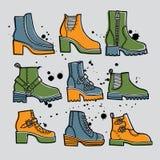 Boots3 Στοκ Εικόνα