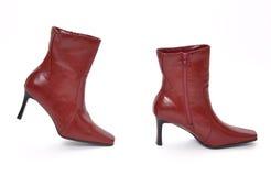 boots красный цвет Стоковая Фотография RF