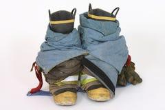 Boots. Fireman boots stock photos