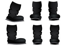 Boots cartoon Royalty Free Stock Image
