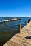 Boots-Docks Stockbilder