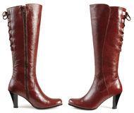 Boots. Isolated Royalty Free Stock Photography