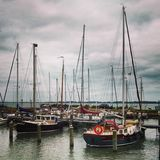 Boots-Jachthafen stockfoto