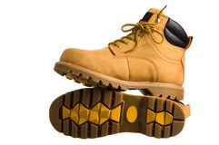 Boots man's. Royalty Free Stock Photo