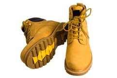 Boots man's. Stock Image