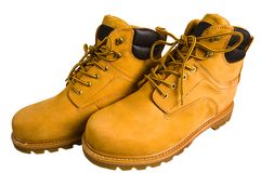 Boots man's. Royalty Free Stock Images