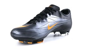 Boots nike soccer stock video