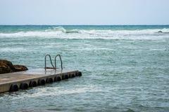 Boots-Pier in Malta lizenzfreie stockfotografie