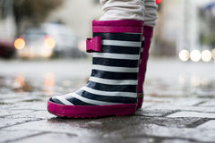 Boots for rainy days Stock Photography