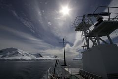 Boots-Reise in Antarktik Lizenzfreie Stockfotografie