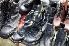 Boots for Sale Stock Photography