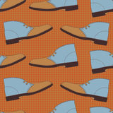 Boots seamless pattern. Royalty Free Stock Images