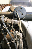 Boots-Seil lizenzfreie stockfotos
