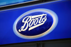 Boots Sign Stock Image