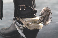 Boots with spurs Stock Image
