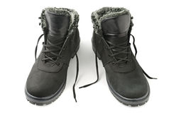 Boots for winter Stock Photos