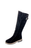 Boots. Women's boots with genuine leather Royalty Free Stock Image
