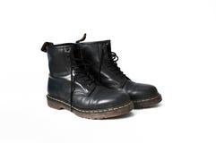 Boots worn, shiny Stock Photography
