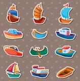 Bootsaufkleber lizenzfreie abbildung