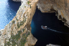 Bootsausflug in Malta lizenzfreie stockfotos