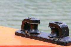Bootsdetail Stockbild