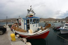 Bootsfischer Stockbilder