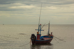 Bootsfischer Lizenzfreies Stockbild