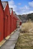 Bootshaus Lizenzfreie Stockfotografie
