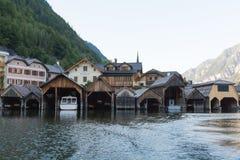 Bootshaus, Bootfahrt lizenzfreies stockbild