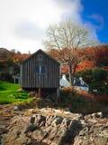 Bootshaus-Insel von Arran Lizenzfreies Stockfoto